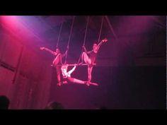 Triples Trapeze at Aircraft Circus' 'Midnight Circus'