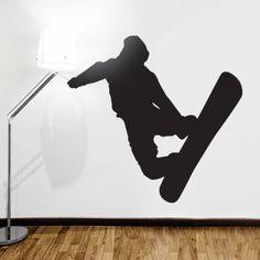www.stickurz.com, Snowboard, Sport, Freestyle, Kids, Teenager, Sticker, Wall Decal, Design, Decoration, wall tattoo