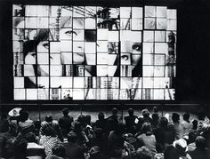 Josef Svoboda's diapolyekran stage design technique, generations ahead of its time