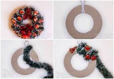 Weihnachtskarten Some cheap ideas for Christmas Tree Projects - Christmas season is just around the corner and you may also have started some Christmas preparations. So have you thought of Christmas tree projects o. Homemade Christmas Decorations, Diy Christmas Ornaments, Xmas Decorations, Christmas Projects, Holiday Crafts, Stick Christmas Tree, Simple Christmas, All Things Christmas, Christmas Time