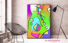 Mural Painting, Mosaic, Digital Art, Shower, Wall Art, Abstract, Prints, Rain Shower Heads, Murals