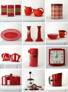 red collage  I LOVE red!!!