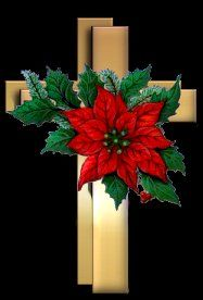 Poinsetta Crosses for my Son... .