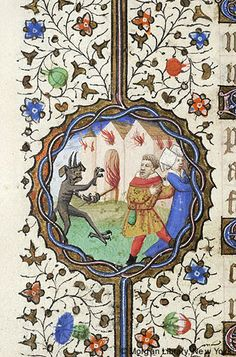 Book of Hours, MS M.359 fol. 167v - Images from Medieval and Renaissance Manuscripts - The Morgan Library & Museum