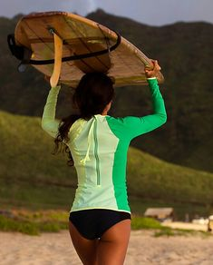 Lululemon surf gear. GREAT rash guards. I have two of them and want more.