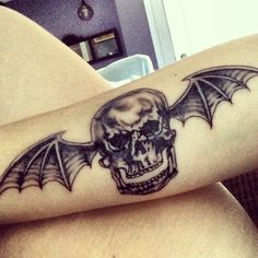 My new Avenged Sevenfold tattoo! #avenged #sevenfold #tattoos