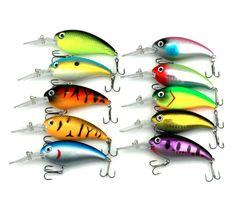 HENGJIA 20PC Crank lure Bass Bait Fishing Lures iscas Crankbait Wobblers Hard peche Fishing Tackle 14g 10cm Swim bait 10 Colors