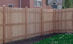 dog ear fence   Custom Wooden Fence Installation Contractor   As Good As New Fence