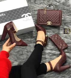 Backpacks are no longer reserved for school children. Chanel Heels, Versace Shoes, Luis Vuitton Shoes, Louis Vuitton, Fashion Bags, Fashion Shoes, Chanel Brand, Trendy Handbags, Shoe Brands