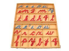 Large Movable Alphabets ( Cursive ) with Boxes