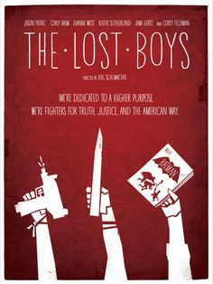 Minimal Movie Posters - The Lost Boys by Wonderbros