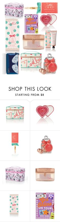 """Zoella New Products + New Girl Online book!!"" by immyclark ❤ liked on Polyvore featuring beauty"