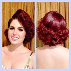 Doris Mayday, hair by Tony Medina