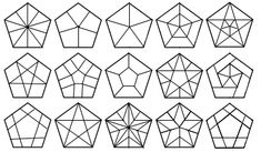 Pentagram variations for Passacaglia centers.