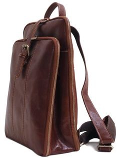 floto venezia leather backpack knapsack satchel bag