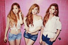 2000×@SNSD TaeTiSeo 태티서 Holler Wallpaper HD 2