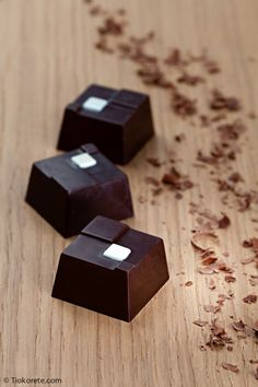 Cioccolatini Tiokorete: Cioccolato bianco