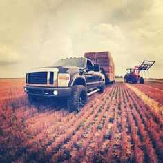 Farm! #diesels #trucks #black #lifted #dodge #ford #gmc #chevy #cummins #powerstroke #duramax #diesel #truck #dieseltrucks #dieselsellerz #dieselpowergear #power #turbo