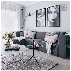 Cinza + rosa grey + pink immyandindi