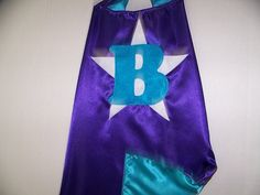 Personalized, CUSTOMIZED, Double Sided  Superhero Party CAPES 4 Kids