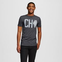 Chicago Local Pride by Todd Snyder Men's CHI Tee - Charcoal Gray
