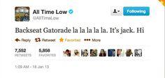 Lol I love Jack XD This was tweeted on my birthday!!!!!
