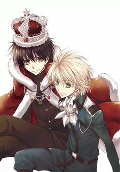 Yuri & Wolfram from Kyou Kara Maou