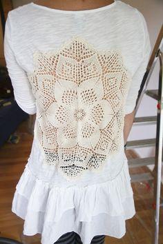 Day 447: Guest Post – Crochet Shirt
