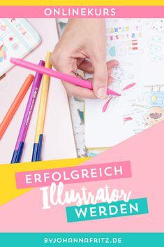 Kurs für Illustratoren und alle, die gerne