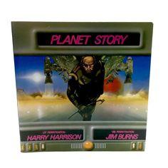 Planet Story Harry Harrison Jim Burns 1979 PB Book Space Art Science Fiction for sale online Science Art, Science Fiction, Harry Harrison, Arcade Games, Burns, Planets, Amp, Illustration, Ebay