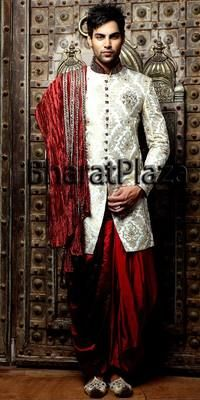 Traditional Indian Wedding Sherwanee Groom Patiala Indo Western Sherwani ECL | eBay