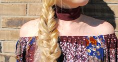 Fall Feeling Fishtail Braid Be Perfectly Imperfect