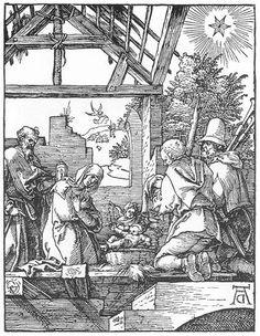 The Nativity (1511) - Albrecht Durer