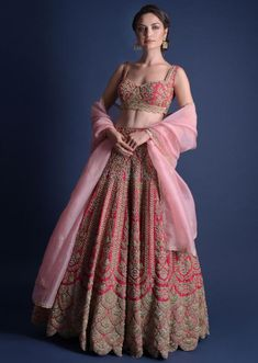 Call/Whatsapp: 7802885280 Kinas Designer present this fully custom made in We are offering fully Hand Made, Zardosi Work bridal collection at the best price. Buy this latest Bridal Lehenga Choli collection at Latest Bridal Lehenga, Designer Bridal Lehenga, Bridal Lehenga Choli, Lehenga Wedding, Wedding Mandap, Red Lehenga, Wedding Stage, Wedding Receptions, Wedding Ceremony