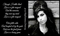 Love is a losing game - #amywinehouse
