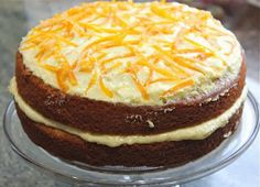 SPICED ORANGE cake. This Mary Berry recipe will go down a treat.