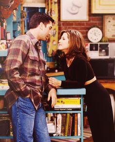 Ross & Rachel. What love