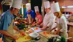 Chefs in Training - Cruiseship Cooking Class. Why not You?