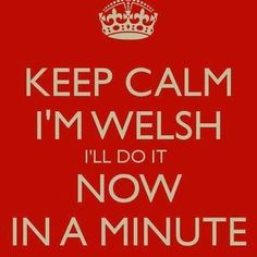 Yes Now,in a minute. Welsh Sayings, Welsh Words, Rugby Funny, Welsh Language, Welsh Gifts, Welsh Recipes, Wales Rugby, Shed Signs, Welsh Dragon