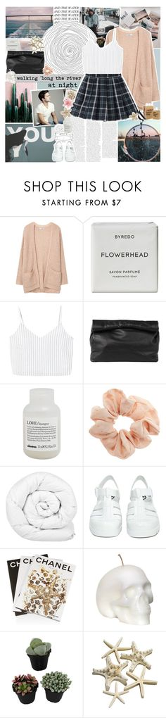 """""""barefoot girls dancin' in the moonlight"""" by www-purrtydino-org ❤ liked on Polyvore featuring Polaroid, MANGO, Byredo, Marie Turnor, Davines, Topshop, Brinkhaus, JuJu and Assouline Publishing"""