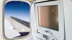 Planes enabled with Wi-Fi now offer entertainment on both seatback screens or streamed to passengers' personal devices.