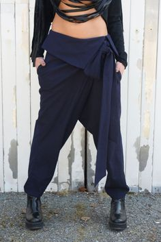 Very fashionable and stylish women pants. The shape is modern, daring and makes a true statement. The are suitable for special occasions or just the days you want to stand out the crowd!