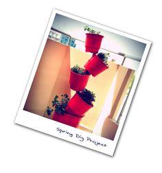 Etsy Greek Street Team: Spring DiY - Recycle flower pots!