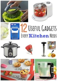 12 Useful Gadgets Every Kitchen Needs | eBay (spon)
