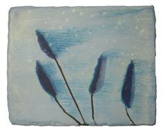 Anke Roder Waterblad-2013 encaustic