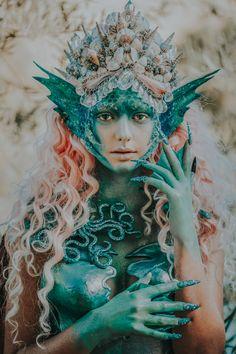 Photographer: Tara Van Rooyen – VR Fine Art Images Headpiece/Makeup/SFX: Rachel – Posh Fairytale Couture Model: Kira Conley