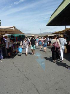 O meu pensamento viaja: Mercadillo - Weekly market!