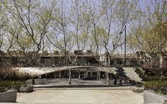 UNStudio twists xintiandi installation through shanghai - designboom | architecture & design magazine