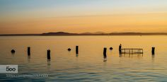 Seattle Sunset by sleithart http://ift.tt/1syzmxv