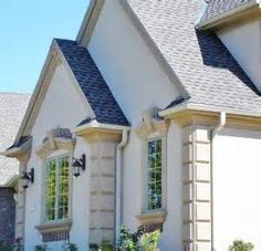 The o 39 jays window frames and middle on pinterest - Exterior decorative foam molding ...